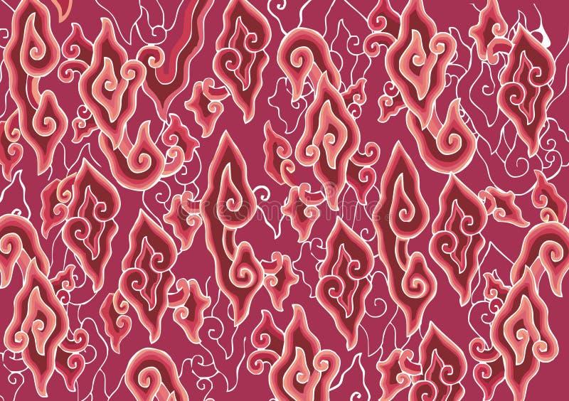 Batik Mega Mendung Pattern Stock Illustration Illustration Of Indonesia 25113758
