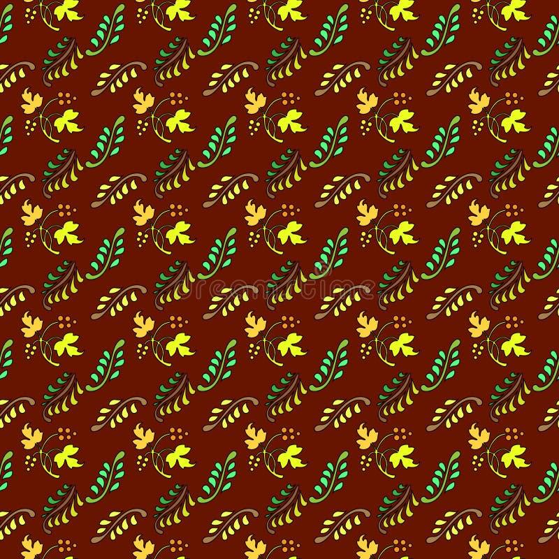Batik mit einem Motiv 5 stock abbildung