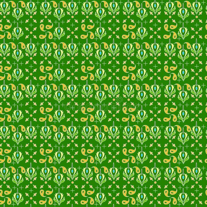 Batik mit einem Motiv lizenzfreie abbildung