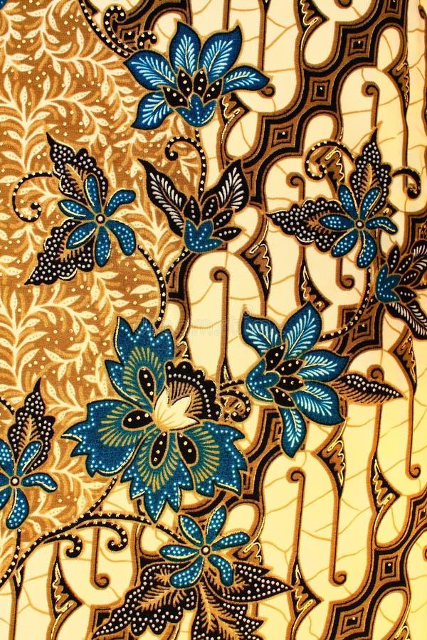 Batik Motif. A hand draw fabric known as batik