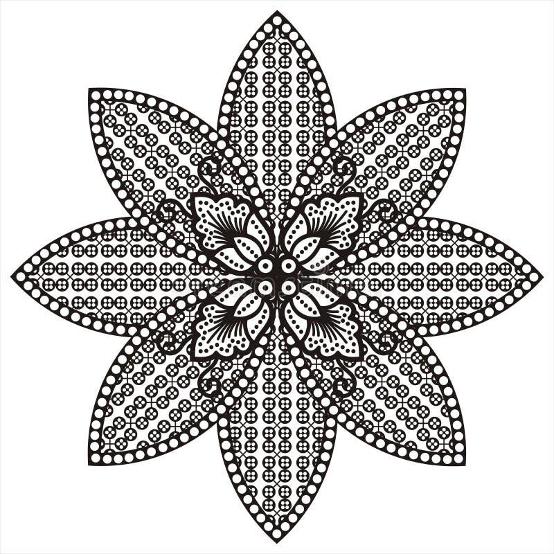Download Batik motive stock illustration. Image of heritage, texture - 13149242