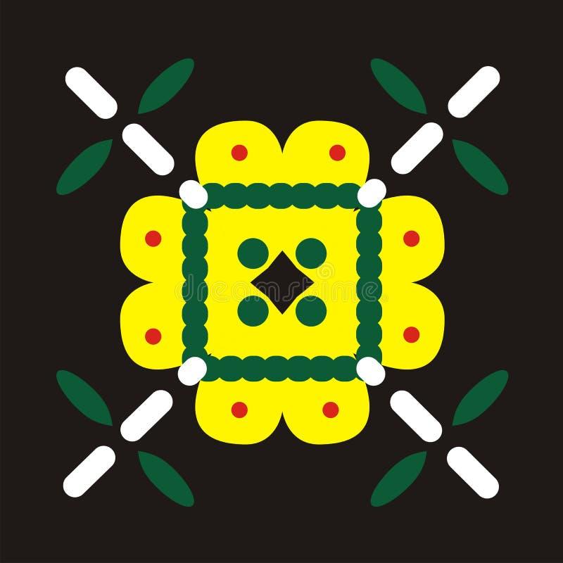 Download Batik motive stock illustration. Image of flower, illustration - 13149448