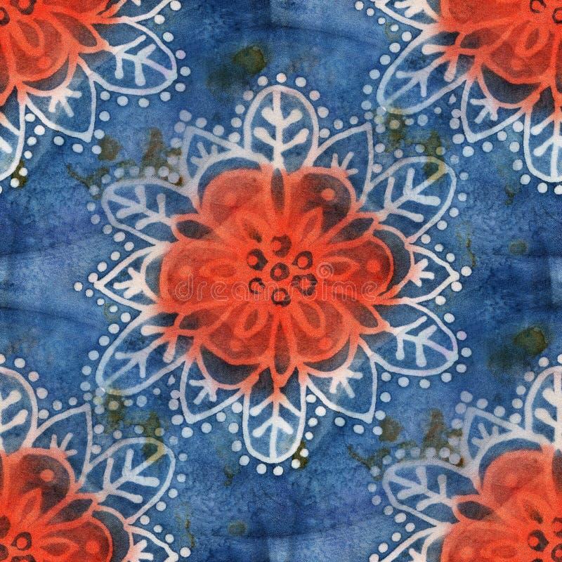 Batik-Muster vektor abbildung