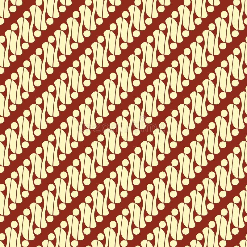 Batik Parang ilustração royalty free