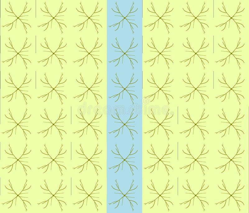 Batik patern stock abbildung
