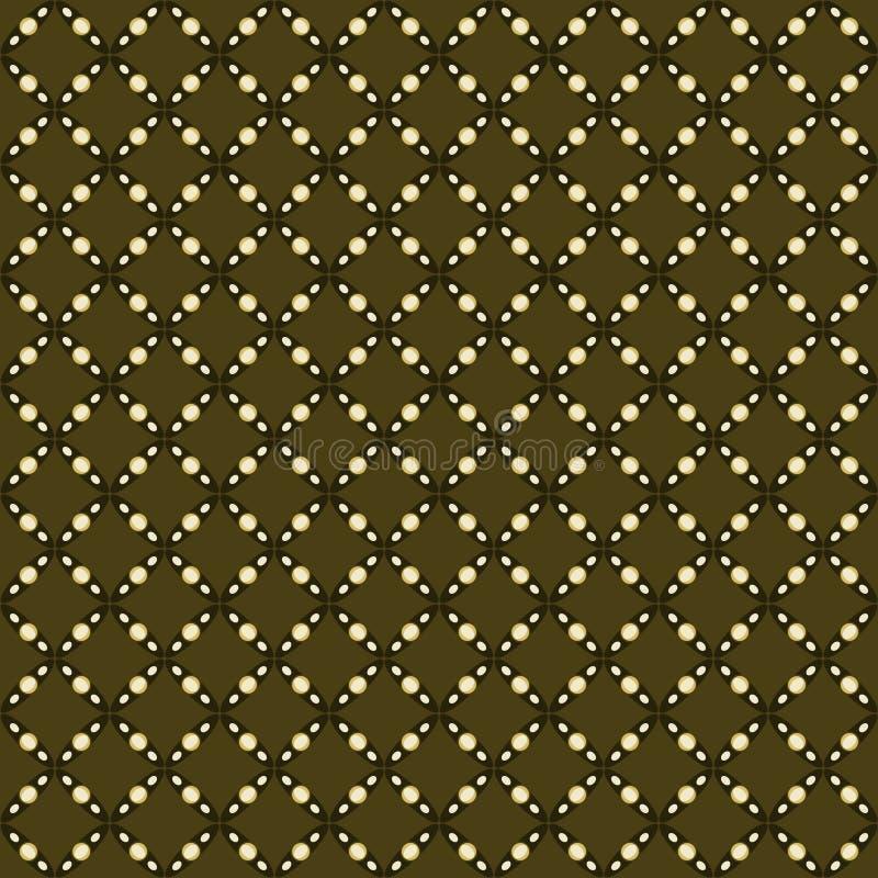 Batik patern lizenzfreie abbildung