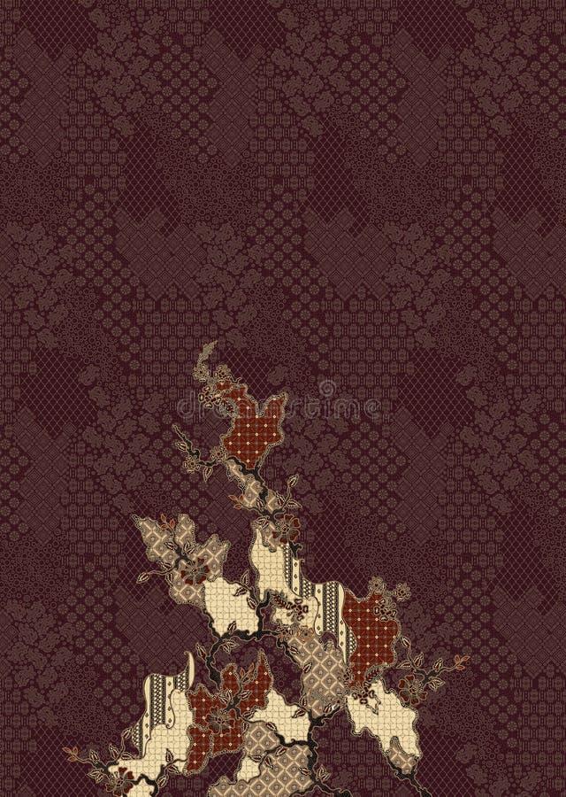 Batik patern photos libres de droits