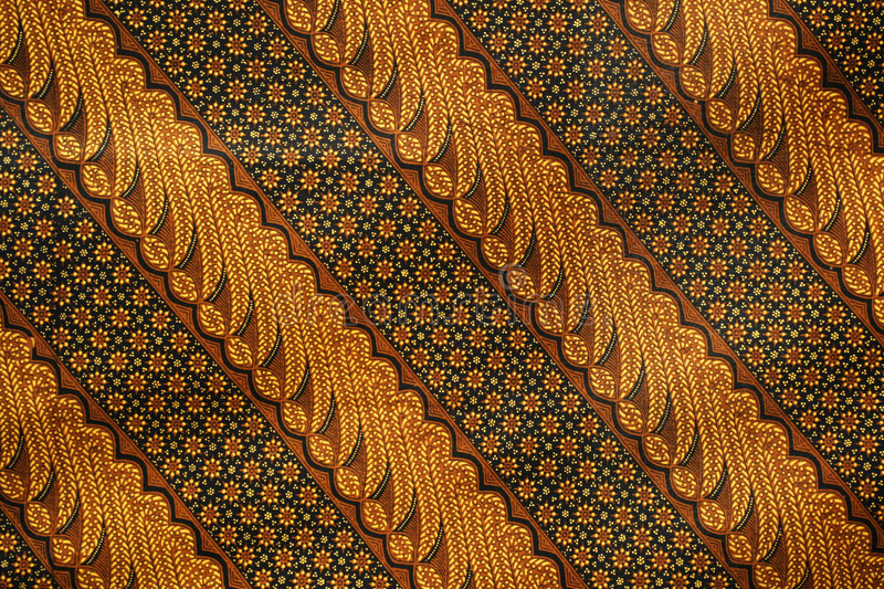 Batik Pattern 2 royalty free stock photo