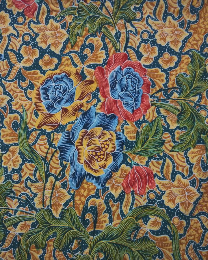 Batik Pattern, Malaysia Stock Photo. Image Of Asia, Lines