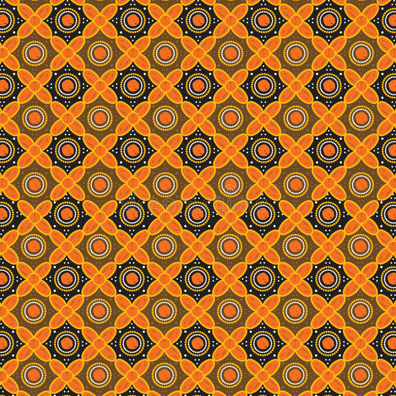Batik Pattern Background In Vector vector illustration