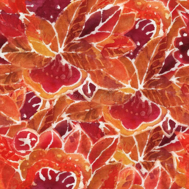 The batik pattern vector illustration