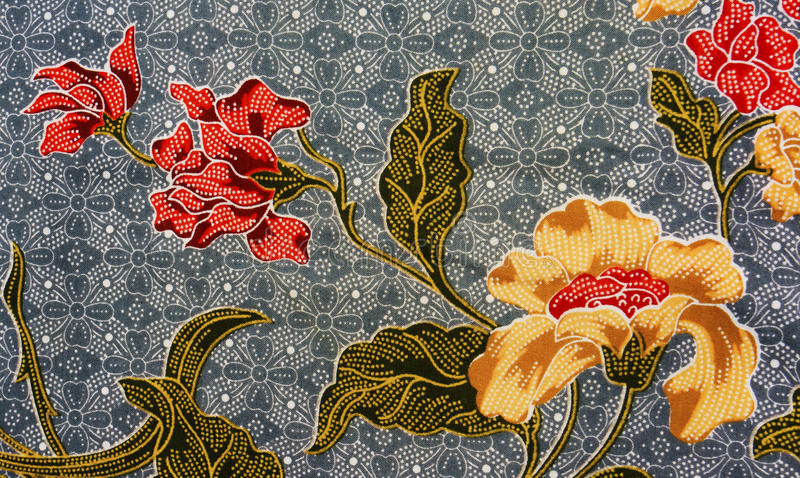 Asian Painting Colours >> Batik Pattern, Malaysia Stock Images - Image: 13342284