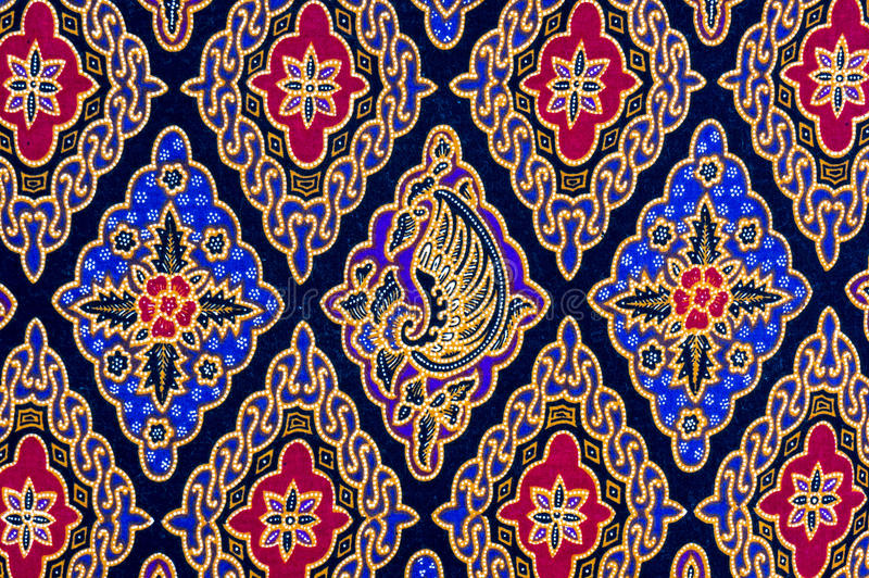 Batik Pattern royalty free stock images
