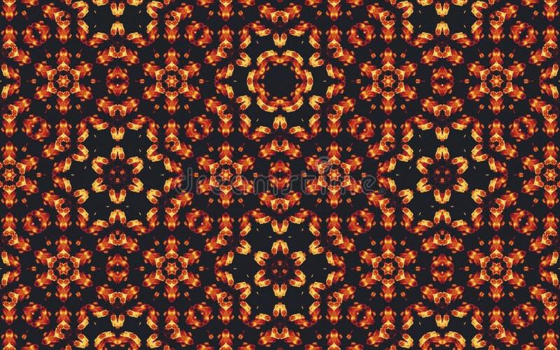 batik simples do motivo para os testes padrões do fundo ou da imagem no teste padrão da tela de matéria têxtil ilustração stock