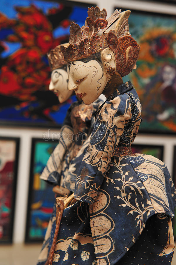 Download Batik Style Dolls Royalty Free Stock Photos - Image: 13260578