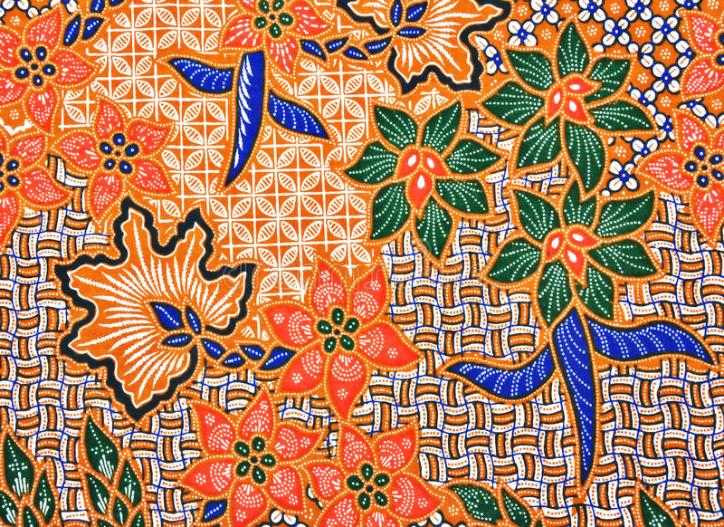 Batik Texture royalty free stock image