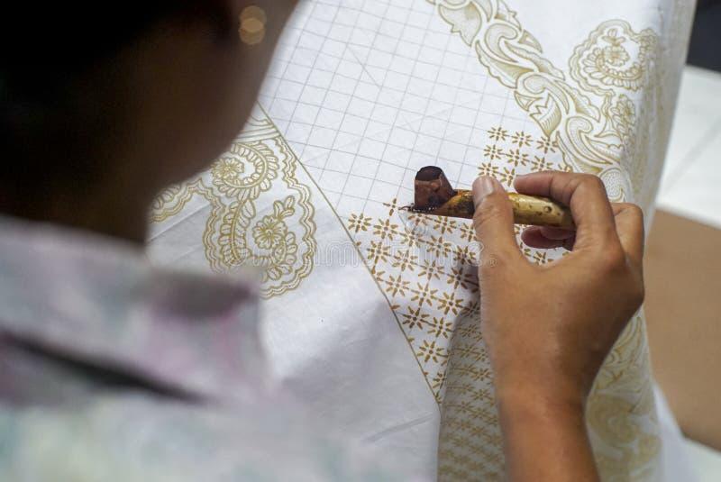Batik Tulis del disegno immagini stock