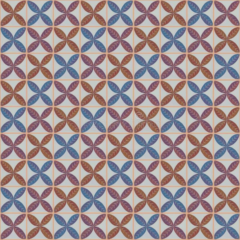 Batik unique, kontemporer de motif de batik photographie stock libre de droits