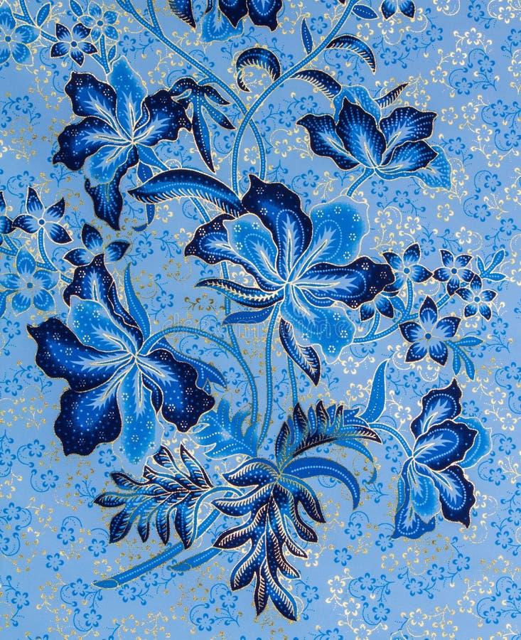 Batikbakgrund arkivbilder