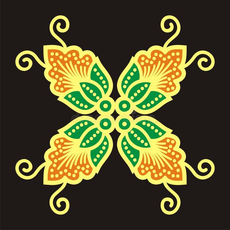 batikbevekelsegrund royaltyfri fotografi