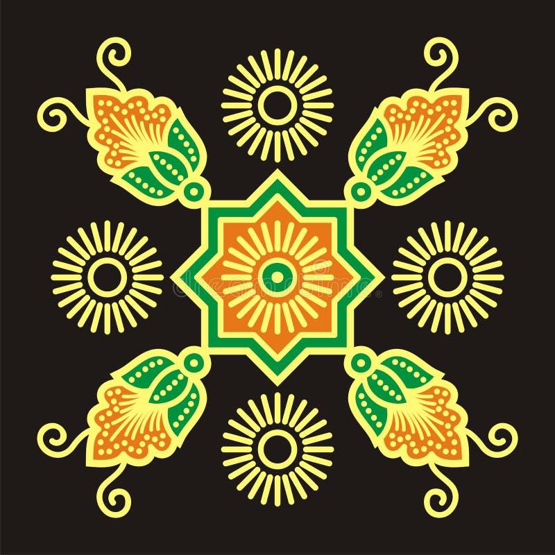 batikbevekelsegrund royaltyfria foton