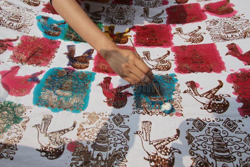 Batikdag royalty-vrije stock foto's