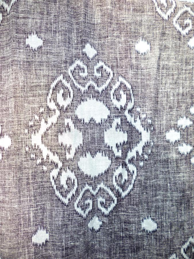 Batikgewebe lizenzfreie stockfotos
