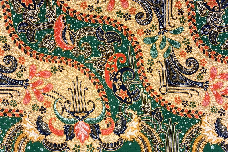 batikindonessarong arkivbild