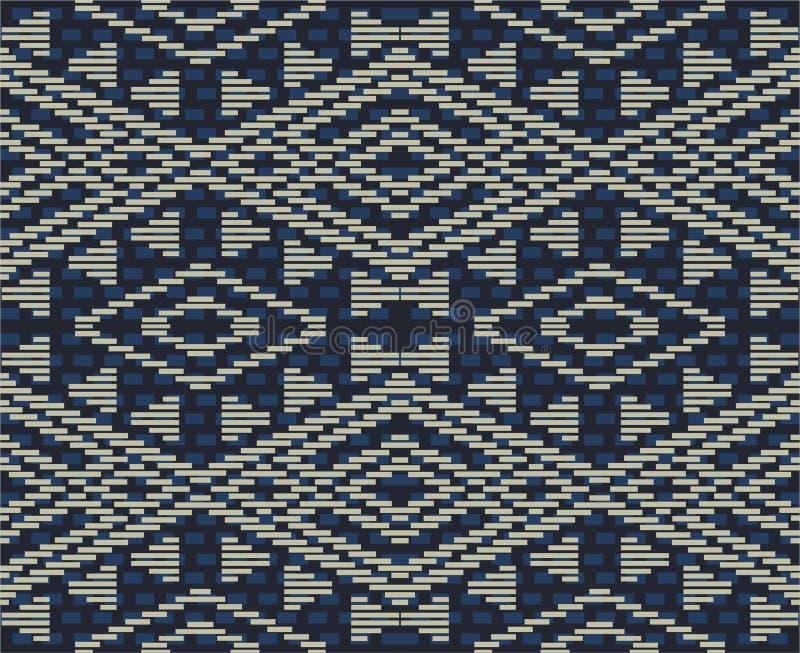 Batikntt Indonesië stock illustratie