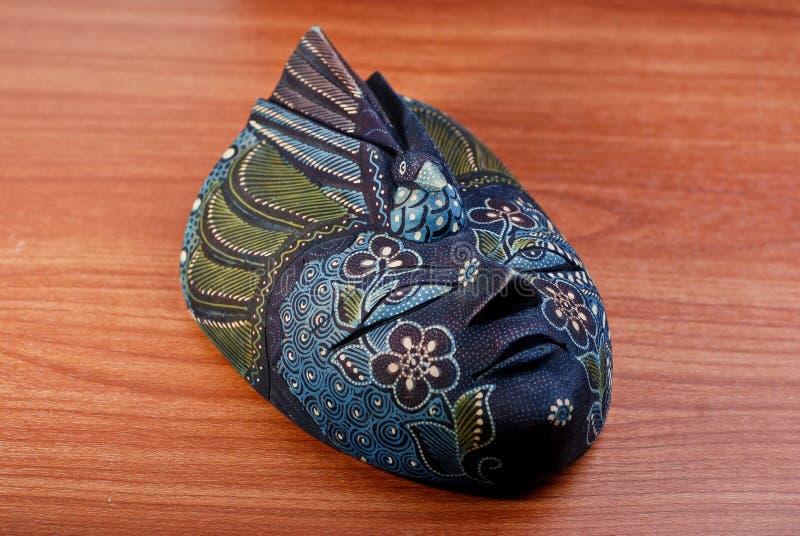Batikowa maska obraz stock