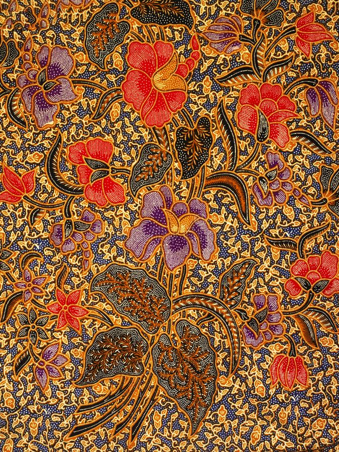 Batikpatroon, solo, Indonesi? royalty-vrije stock foto