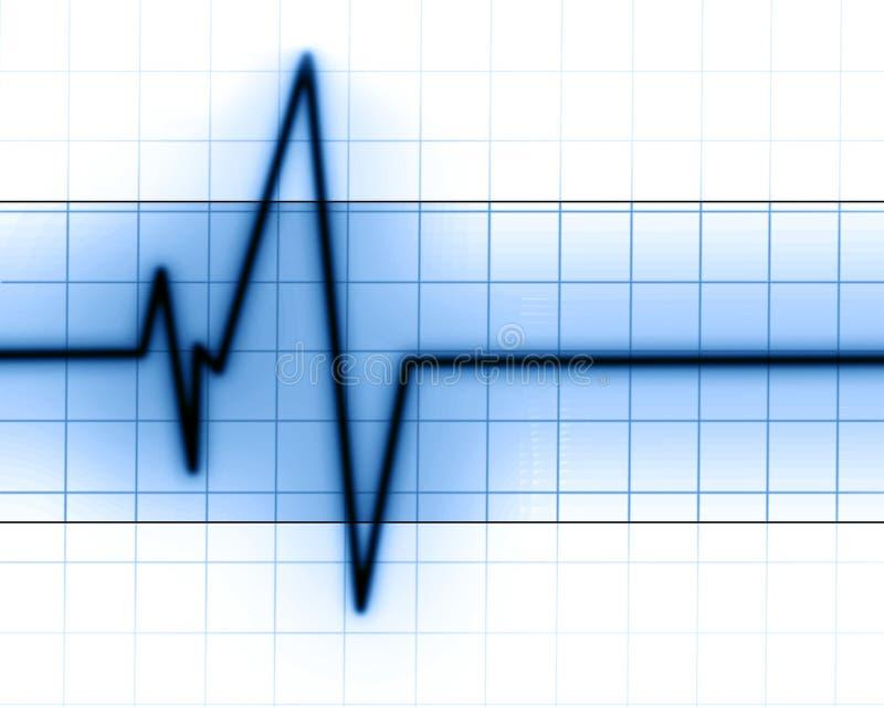 Batimento cardíaco ilustração royalty free