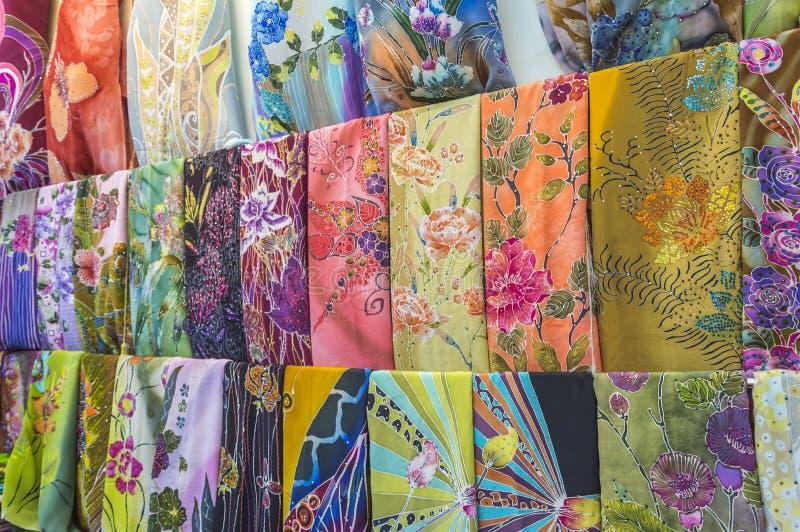Batique textil royaltyfria foton