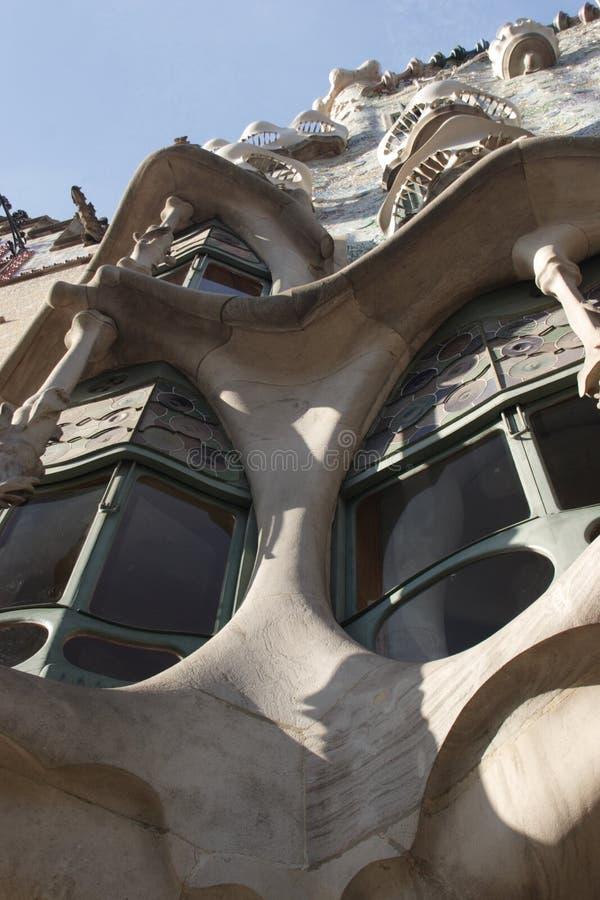 Batllo Haus. lizenzfreies stockfoto