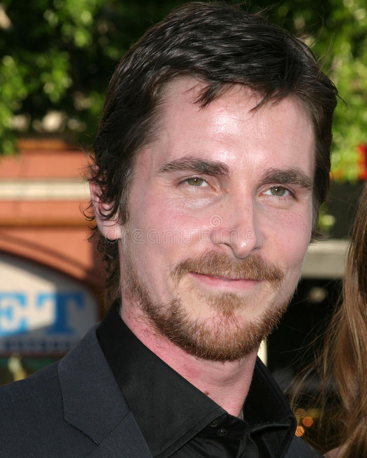 Batman, Christian Bale stockbilder