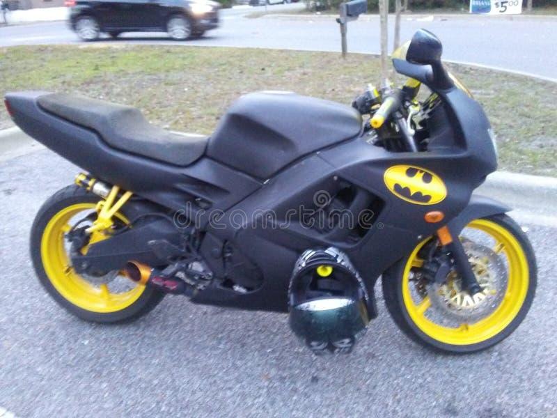 Batman is hier royalty-vrije stock foto's