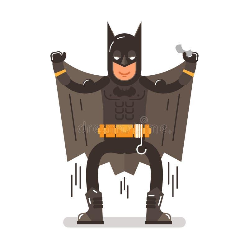 Batman-Kostüm vektor abbildung
