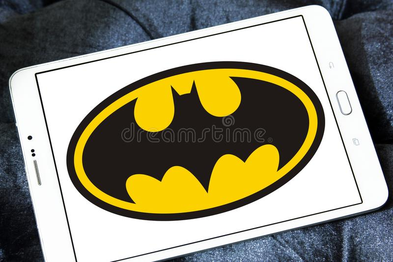Batman logo fotografia royalty free