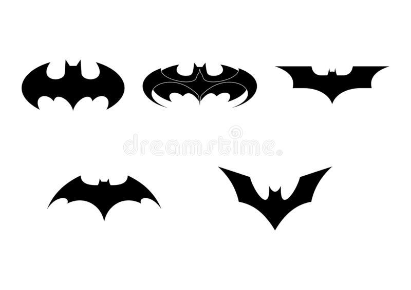 Batman Logo Isolated Png Editorial Photo Illustration Of