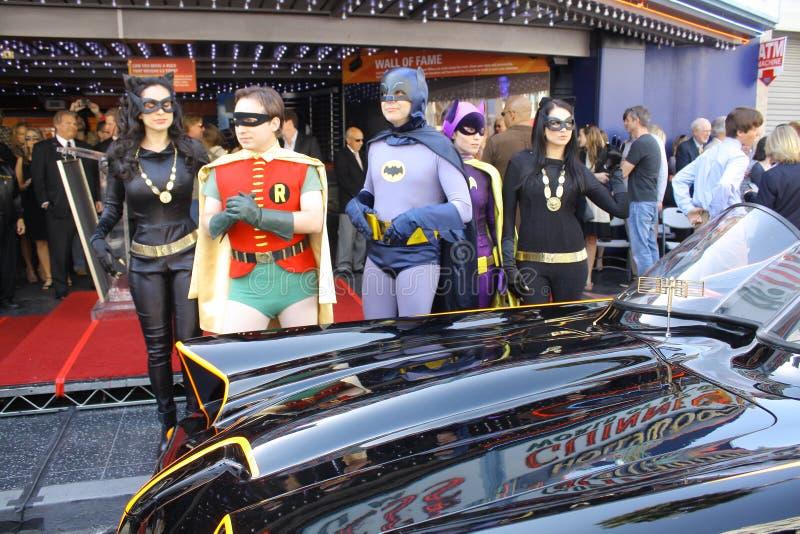 Batman und Robin stockbilder