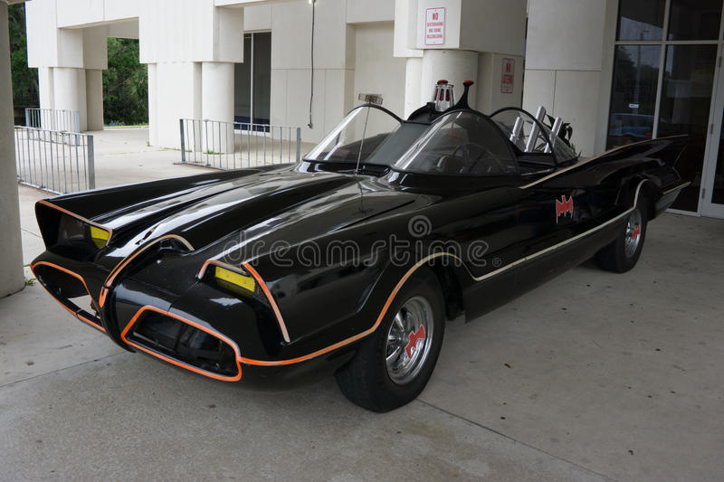 Batmobile fotografie stock
