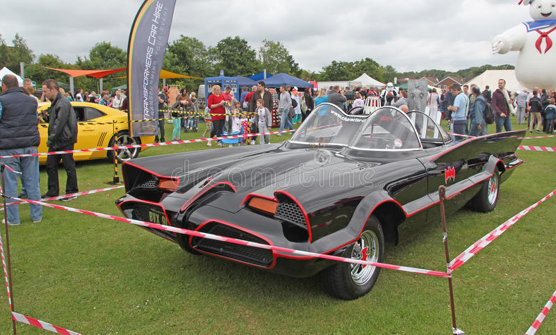 Download The Batmobile editorial stock photo. Image of businesses - 41796793
