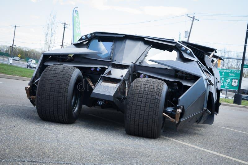 Batmobile-Trommel lizenzfreie stockbilder