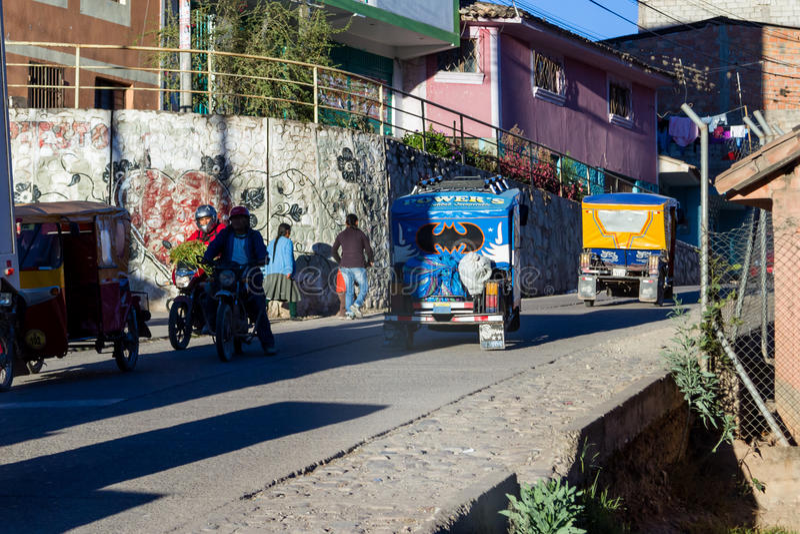 Batmobile w Peru zdjęcia stock
