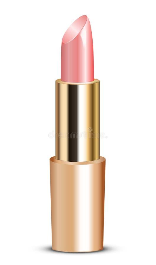 Batom cor-de-rosa ilustração stock