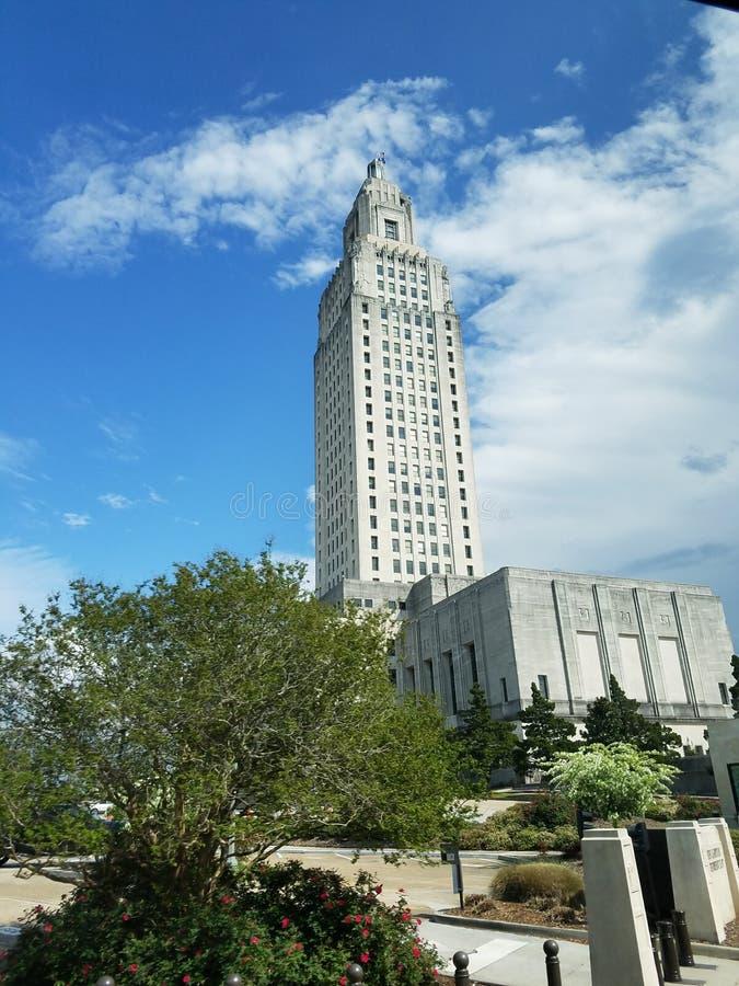 Baton Rouge de construction capital, LA image libre de droits