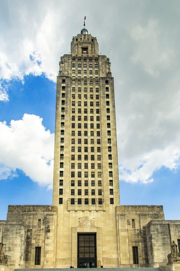 Baton Rouge, Louisiana - Capitólio do estado foto de stock