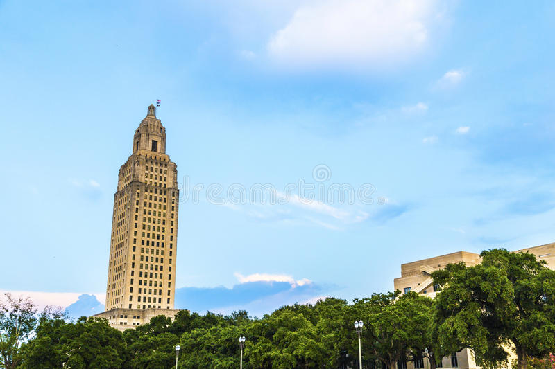 Baton Rouge, Louisiane - état image stock