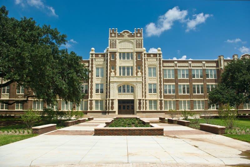 Baton Rouge magnethögstadium fotografering för bildbyråer