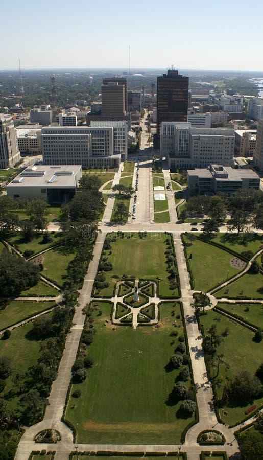 Baton Rouge van de binnenstad royalty-vrije stock afbeelding